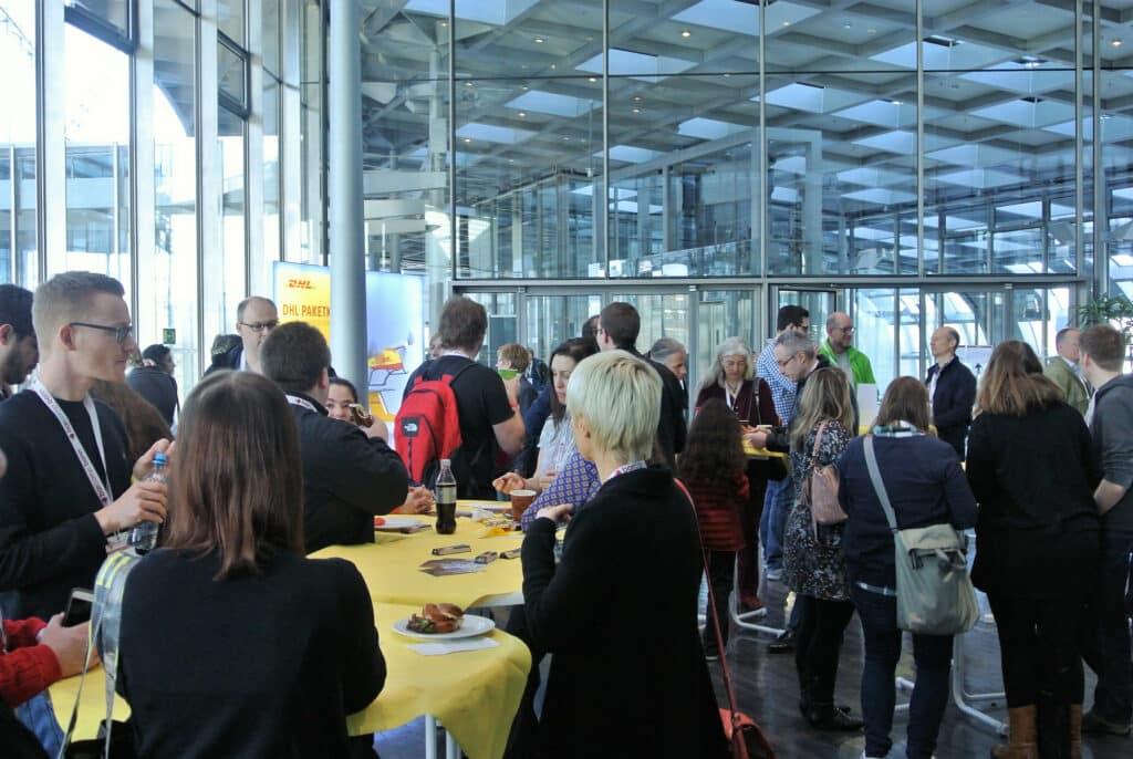 Gespräche auf dem Barcamp Bonn 2017