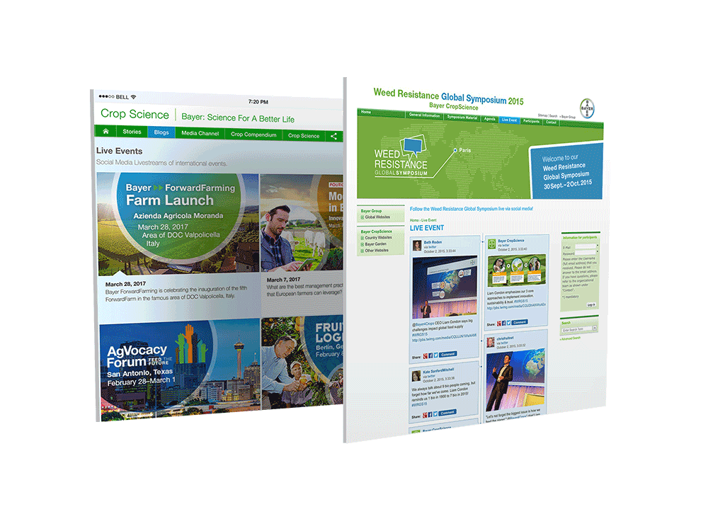 Bayer Crop Science - Social-Web