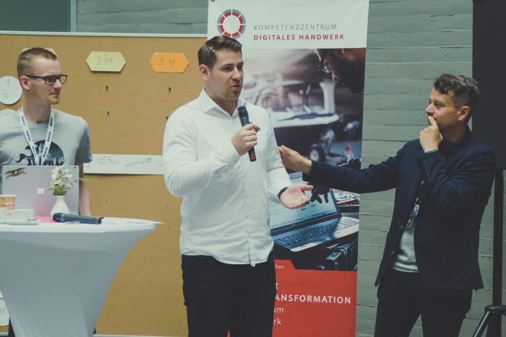 Sascha Böhr auf dem Barcamp Koblenz 2018