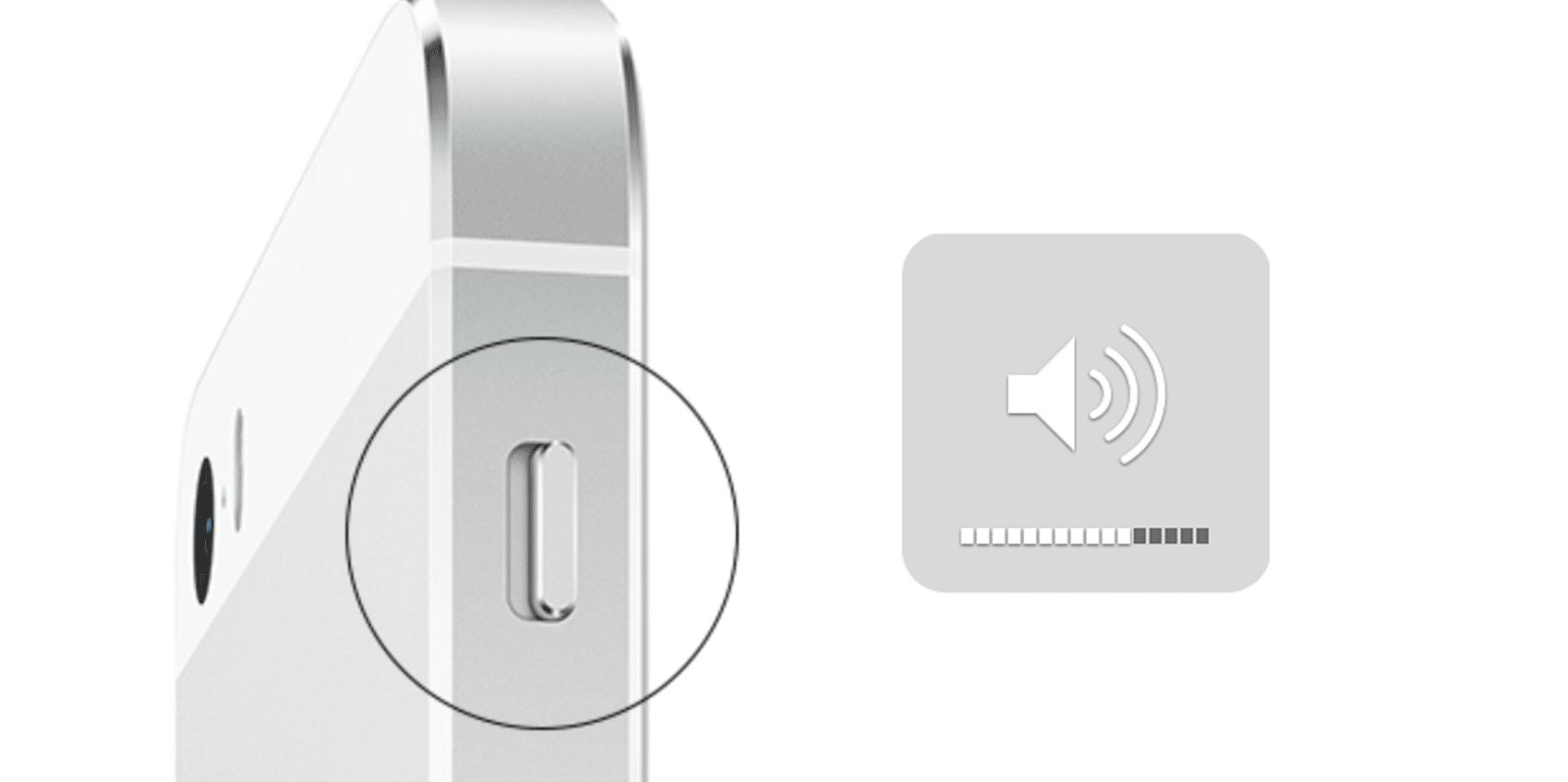 Bild: Haptikgedächtnis und Lautstärke-Switch an modernen Smartphones