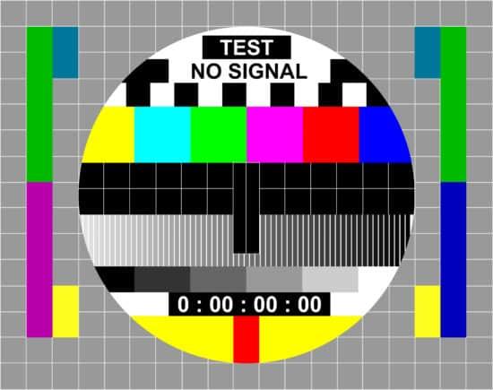 Fernseh-Testbild: Eine symbolische Grafik dazu, wie wichtig es ist, die Chatbot Marketingkampagne ausgiebig zu testen