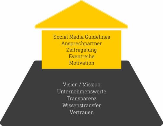 Grafik: Voraussetzungen für Corporate Influencer