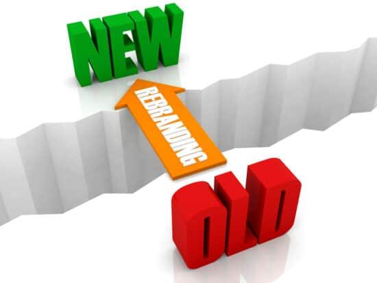 Symbolbild: Rebranding ist die Brücke von alt zu neu