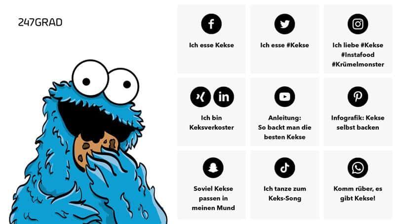 Abbildung: Übersicht über die relevanten Social-Media-Kanäle, die bei eurer Reichweitenoptimierung helfen