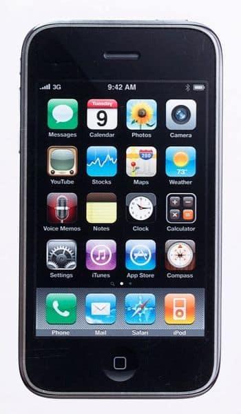 Abbildung: ein altes iPhone