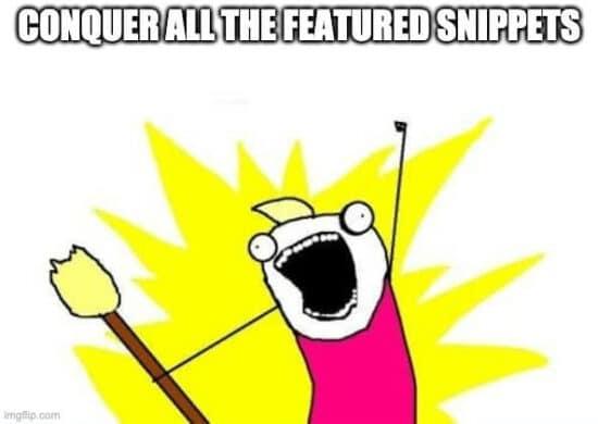 Abbildung: Inhalte und Texte für Google optimieren, um in SERPs mit Snippets zu erscheinen