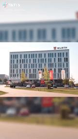 Abbildung: Das B2B Unternehmen Würth auf TikTok