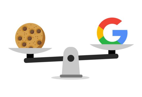 Abbildung: Google vs. Cookies